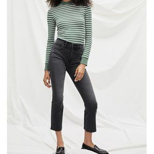 NWT Gap High Rise Crop Boot Ankle Flare Jean